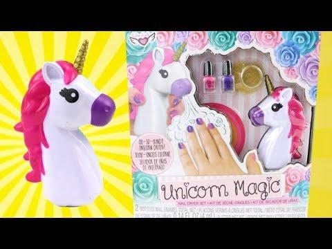 Unicorn Magic Unicorn Nail Dryer Does It Work Youtube