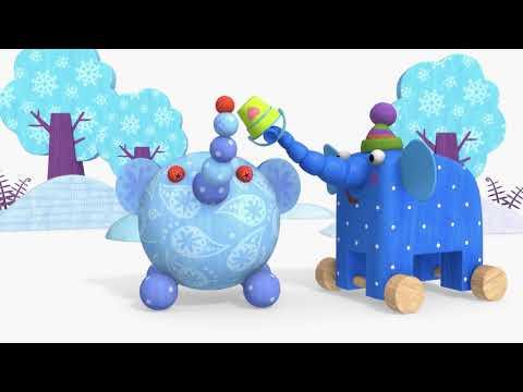 Видео: Теремок песенки для детей - Деревяшки: Полет (Про игрушки)- Мультики для детей и малышей