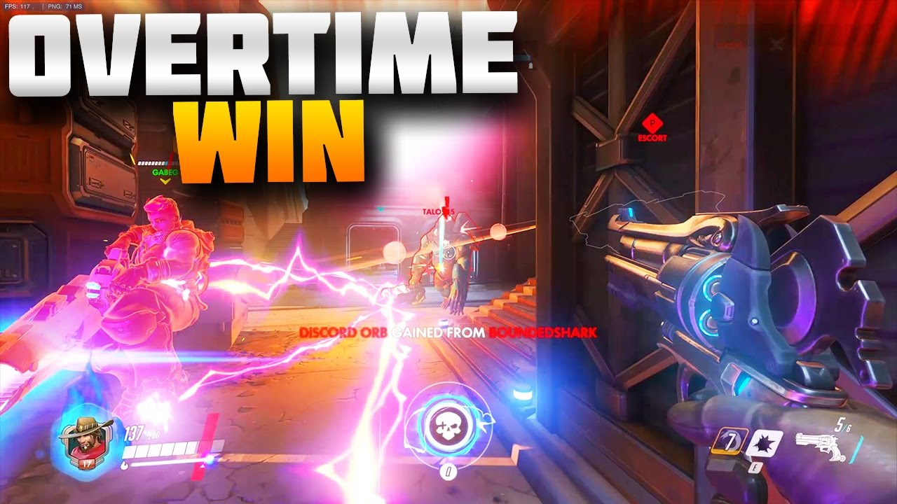 overtime clutch win overwatch pc tbnrkenworth youtube