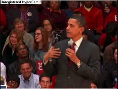 Obama answers questions concerning foreclosures