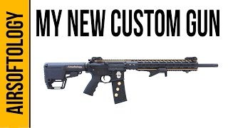 My New Custom Airsoft Gun from Thunderkiss NW | Airsoftology