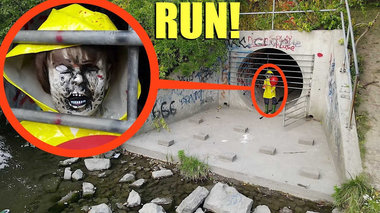 Download when you see this little boy inside of clown tunnel RUN away FAST! (he is evil)
