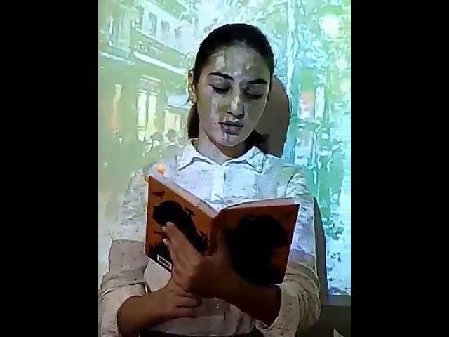 Изображение предпросмотра прочтения – ЭленХачатрян читает произведение «В Париже» М.И.Цветаевой