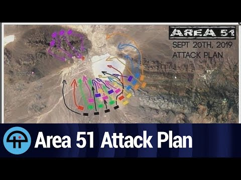 Area 51 Attack Plan Invoves Furries, Naruto Runners - YouTube