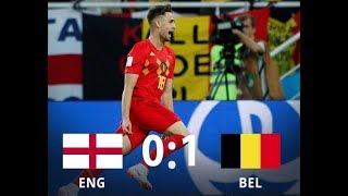 England 0-1 Belgium (Highlights,reactions,memes)