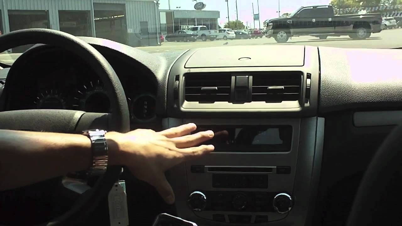 How To Quot Sync Quot Your Phone To A Ford Fusion Youtube