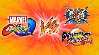 COMPETITION IS GOOD - MVCi Vs. DragonBall FighterZ & BlazBlue Cross Tag Battle