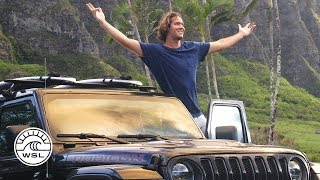 Join us for an exclusive look behind the scenes of Jeep® Sessions: A Surfing Journey in 360 ̊