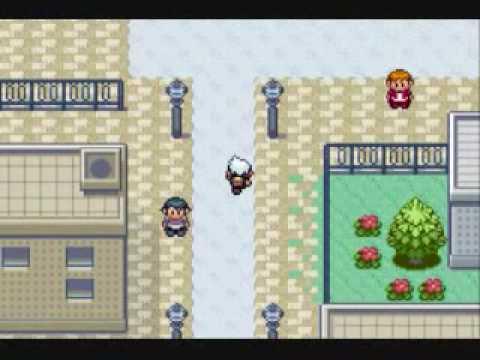 Pokemon Sapphire Walkthrough Part 6: Rustboro City