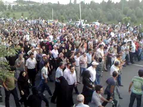 Tehran azadi Square خرداد25 1388