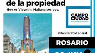 Protestas contra la intervención y expropiación de Vicentin