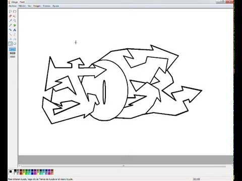 Jose Graffiti MS Paint  YouTube