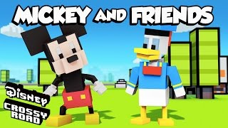 Disney Crossy Road | The Animated Series | Mickey and Friends