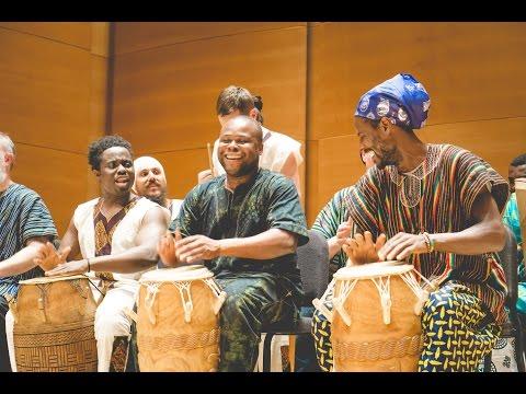 Kpanlogo @ Akan Festival 2016 - Tufts University