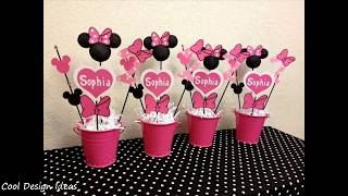 Diy Minnie Mouse Party Decorations Ideas Youtube