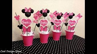 DIY Minnie Mouse Party Decorations Ideas