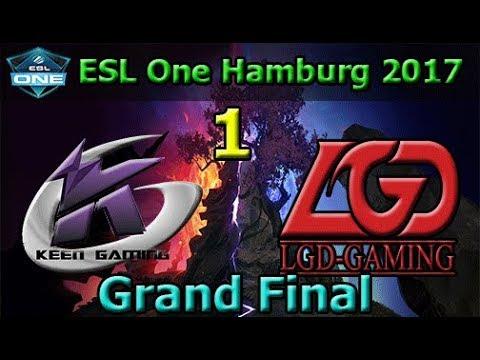 Keen Gaming vs LGD Game 1 | Grand Final | China Qualifier | ESL One Hamburg 2017