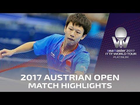 2017 Austrian Open Highlights: Lin Gaoyuan vs Robert Gardos (R16)