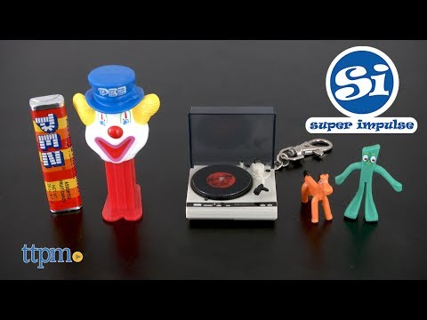 World's Smallest Pez, World's Coolest Turntable & World's Smallest Gumby from Super Impulse