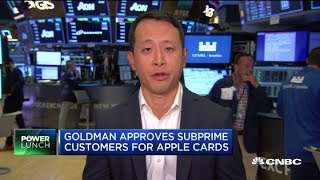 Goldman Sachs approves subprime customers for Apple credit cards—here's why