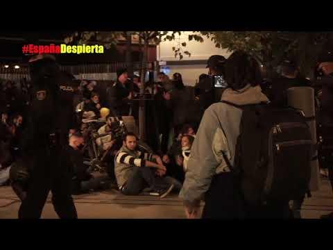 crónica del 31 O Madrid | violencia, infiltrados, policías cómplices