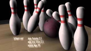 Bowling - 3D Animation