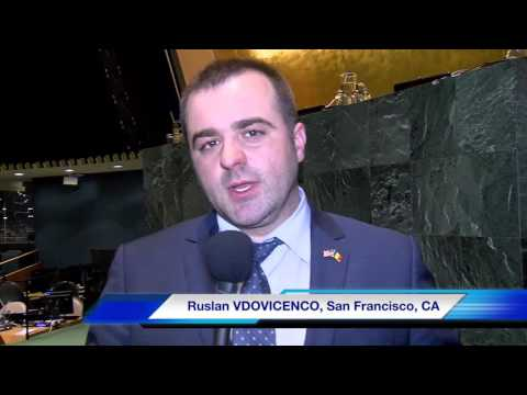 Interview with Ruslan Vdovicenco,  Convention participant