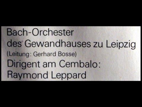 Händel / Raymond Leppard, 1967: Concerto Grosso Op. 3, No. 1 - Bach Leipzig Gewandhaus Orchestra