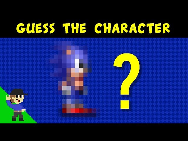 Level UP's Guess the video game character Minigame
