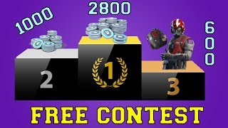 MAXI CONTEST V-BUCKS (ONLY 100 PARTECIPANTS)!!! / REGOLAMENT IN DESCRIPTION / FORTNITE ITA