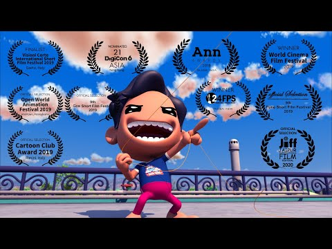 Kite ( Patang ) - Animation Short Film
