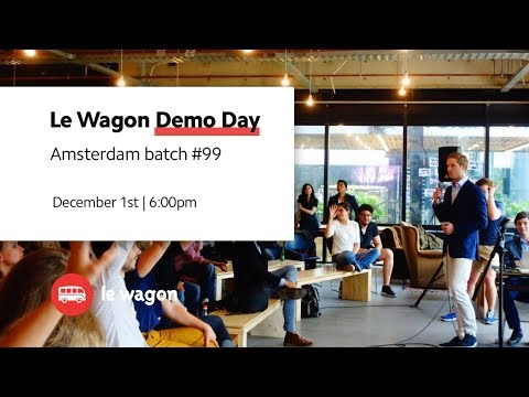 5 apps developed at Le Wagon Amsterdam - Batch #99