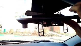 Автомобильное зеркало видеорегистратор не работает!