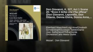 Don Giovanni (2002 Remastered Version) , Act I, Scene Five: Ecco il birbo, che t