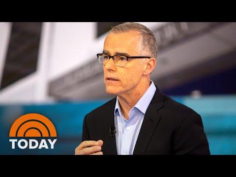 Ex-FBI Offical Andrew McCabe Talks Trump, Russia & Mueller Probe | TODAY