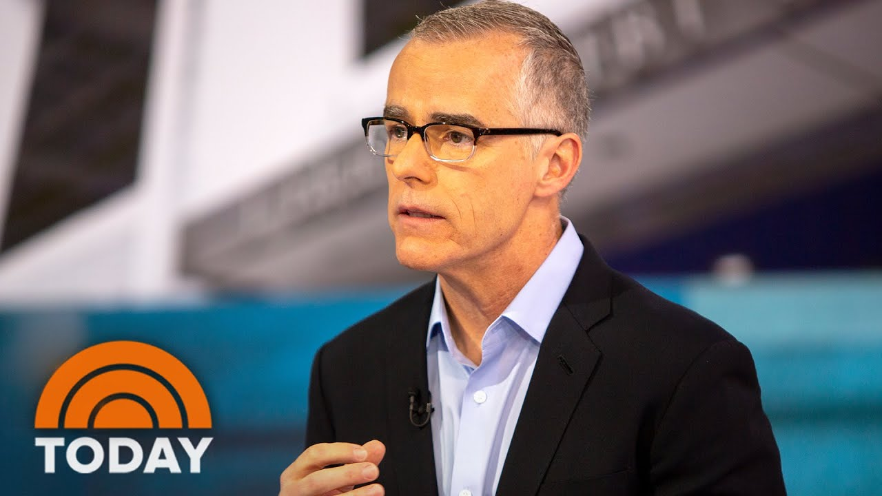 Ex-FBI Offical Andrew McCabe Talks Trump, Russia & Mueller Probe | TODAY