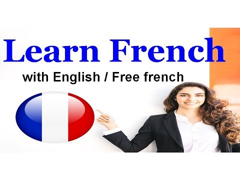 Learn French with English / Free french