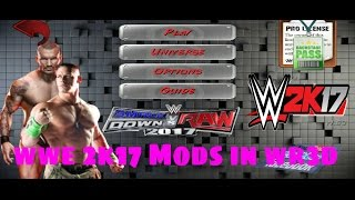 How to Download WWE 2K17 Mod in Wrestling revolution 3d/WR3D Game