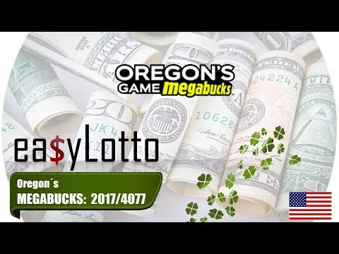 MEGABUCKS Oregon numbers 9 Aug 2017