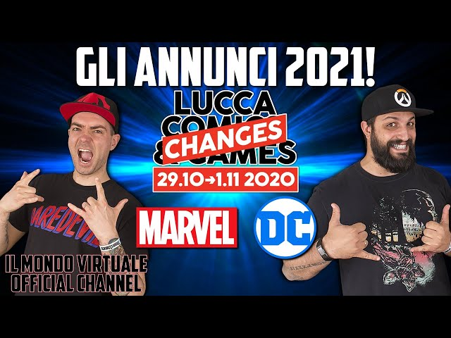 LUCCA CHANGES 2020: SUCCOSI ANNUNCI PANINI MARVEL E DC!