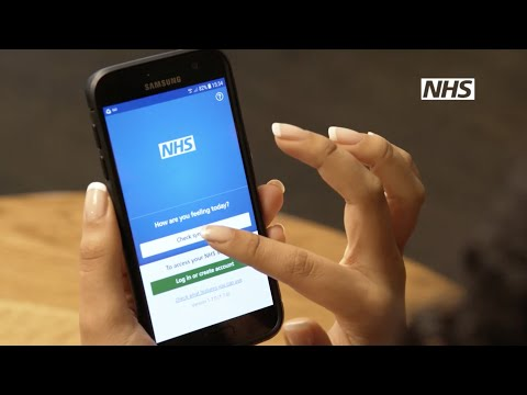 Get more control of your health and care. Get the NHS App.