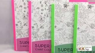 Giới thiệu: Tranh tô màu graffiti siêu khổng lồ theo chủ đề - Super painter - KKstore