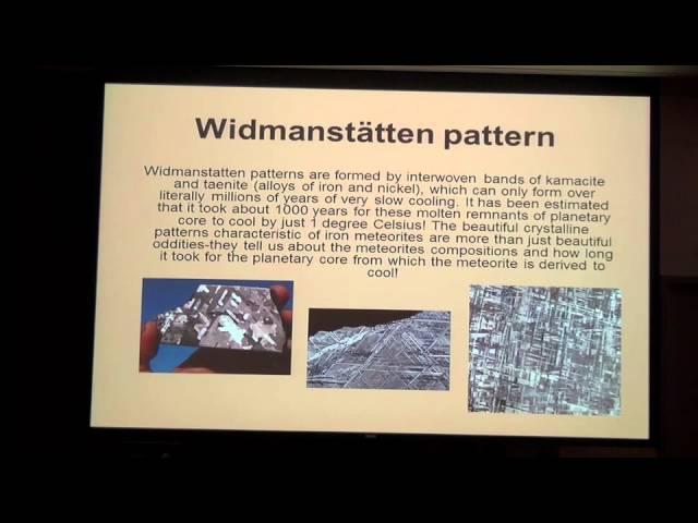 Fallen Stars: All About Meteorites Presented by Doug Bradstreet, Graduate Gemologist