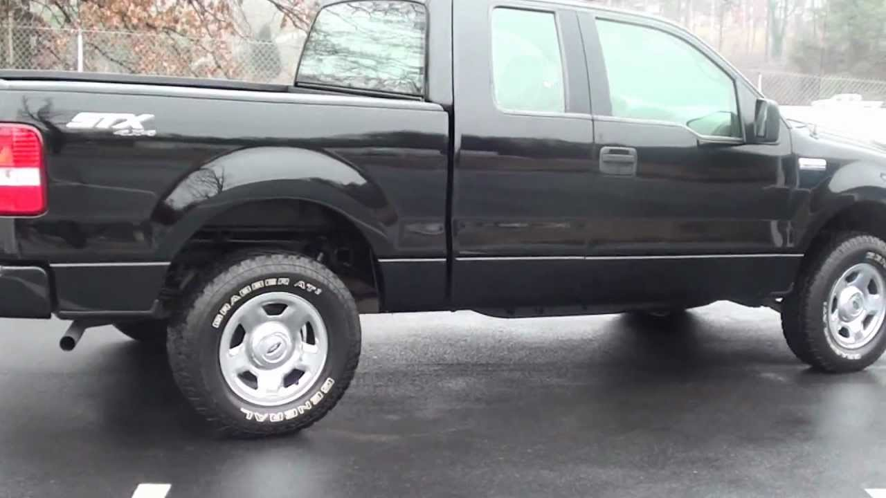 for sale 2006 ford f 150 stx 4x4 1 owner stk p5996 youtube. Black Bedroom Furniture Sets. Home Design Ideas