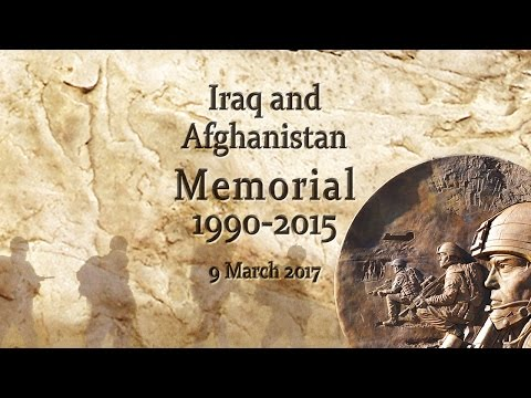 Unveiling of the Iraq and Afghanistan Memorial - Live Stream