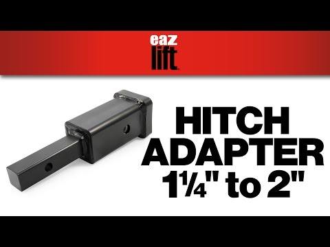 "Eaz-Lift's Hitch Adapter, 1-1/4"" - 2"""