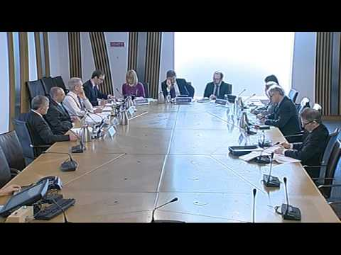 Subordinate Legislation Committee - Scottish Parliament: 5th March 2013
