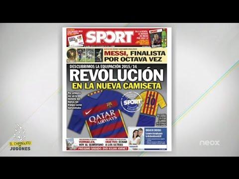 Exclusiva Sport: Revolución en la nueva camiseta del Barça
