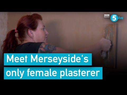 Meet Steph: Merseyside's only female plasterer