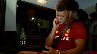 Oxlade-Chamberlain's LFC signing day VLOG | Exclusive behind the scenes footage